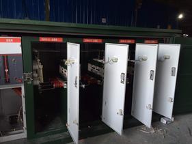 内蒙风电场35KV电缆分接箱一进二出铜排连接厂家