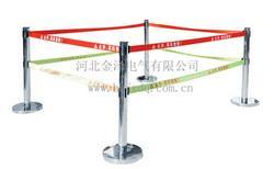 警示带不锈钢伸缩围栏,单带双带3m-5m