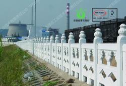 仿石护栏,河道护栏,大坝护栏,水利工程