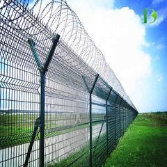 护栏网厂家 浸塑护栏网 高速公路铁路护栏网