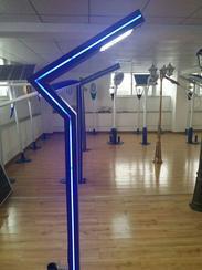 烟台厂家直销4米LED庭院灯5米景观柱灯LED高亮方形景观灯中国结灯