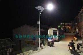 新农村建设太阳能路灯首选品牌恩泽节能