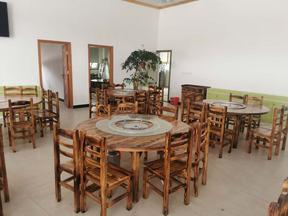 农家乐农庄桌椅网红中国风炭烧木仿古餐厅台凳