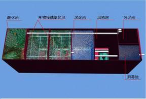 晋江食品加工厂一体化污水处理设备厂家直销