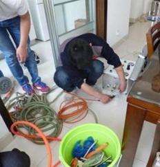 上海莘庄自来水管气压脉冲清洗