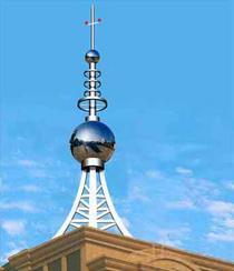 办公楼顶通讯塔,信号塔,发射塔,通信塔