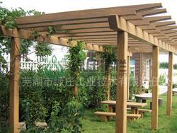 仿木花架,直线花架,园林花架,园林绿化,景观设施