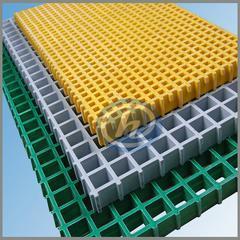 玻璃钢格栅 湿热易锈区域专用 耐腐蚀 玻璃钢方格板 FRP格栅板