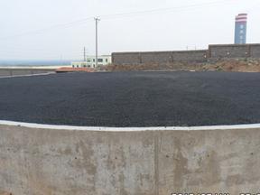 山西吕梁沥青砂厂家为储罐基础垫层出份力