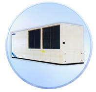 风冷屋顶式冷热风空调机组