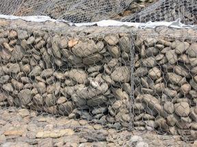 格賓網 格賓石籠 格賓籠 河堤防護格賓護腳 鋅鋁合金雷諾護墊