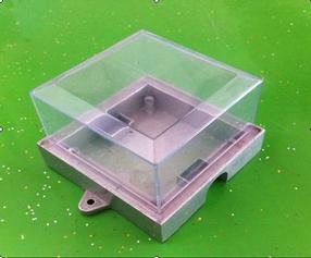 中山古镇LED灯饰外壳配件压铸铝小功率点光源外壳
