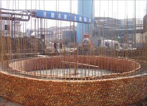 45米砖砌烟囱新建