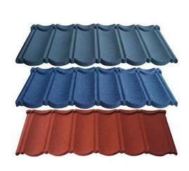 兰州彩石金属瓦屋面改造瓦工程项目瓦镀铝锌轻质瓦0.4