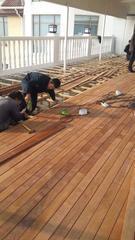防腐木工程翻新