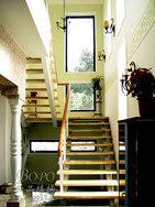 上海楼梯 别墅楼梯 复式房楼梯 钢木楼梯 实木楼梯