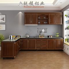 全铝橱柜门板 厨房壁柜地柜定制 材料批发