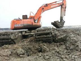 供应重庆水陆两用挖掘机