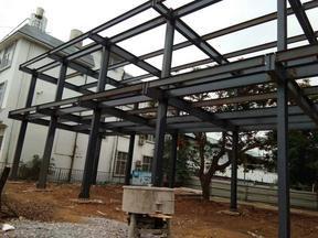 H型鋼十柱混凝土組合勁性鋼結構工程