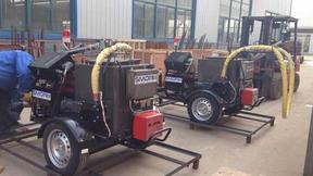 厂家现货供应熔料快灌缝机 100升沥青灌缝机   道路修补施工灌缝机