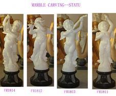 供应汉白玉儿童天使雕塑