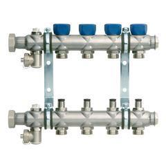 德国普林多分水器集分水器地暖散热器安装