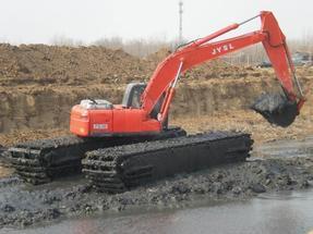 湖北水陆两用挖掘机改装 水陆两用挖掘机价格