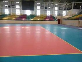 运动场馆地板、塑胶运动地板、台球厅地板胶