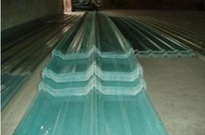FRP玻璃钢采光瓦解决彩钢瓦生锈