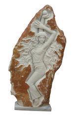 白色大理石人物雕刻MGP210