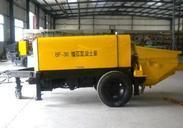混凝土输送泵结构什么?