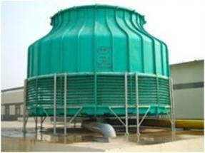 圆型逆流式冷却塔