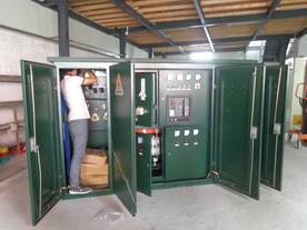 厂家美式组合式箱式变电站