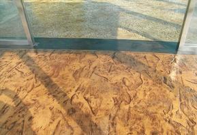 彩色混凝土彩色水泥印花 压印 压模施工步骤 重庆 四川 乐山