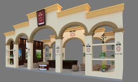 济南展览工厂济南展厅设计济南展台搭建