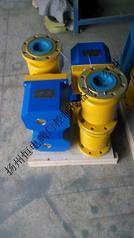 2秒快开水泥均化库专用DQFDN100电动法兰球阀DQF-100