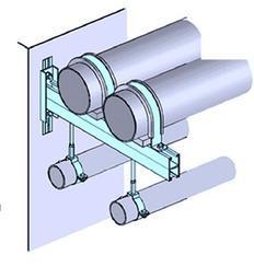 KWIKSTRUT P1000/P3300 组合支吊架