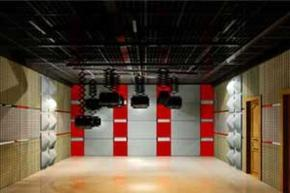 演播室灯光灯具铰链,灯具伸缩吊杆,灯具滑车,灯具工字铝轨道