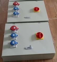 生产展位插座箱 防水检修电源箱 工业插座配电箱