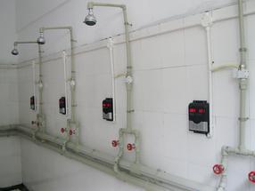洗澡计费系统澡堂IC卡水控机,淋浴计时刷卡节水器