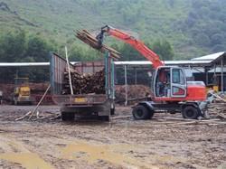 360度轮式挖掘机、小型双驱动挖掘机