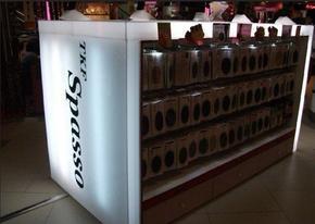 上海黄金珠宝精品柜台上海化妆品形象展柜上海电子卖场展柜