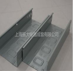 振大槽式镀锌桥架 节能轻型电缆弱电线槽