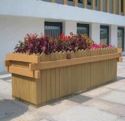 大连塑木花箱|大连木塑花箱