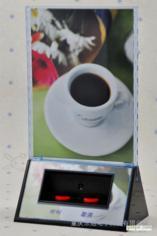 乐旭科技 C2两键活性换肤餐牌 呼叫器 分机