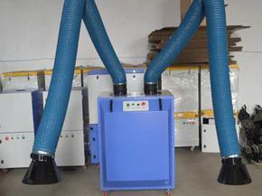 双臂焊烟净化器西门子电机日本滤纸软管吸气臂