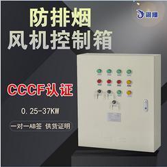 广州双速双电源CCCF消防风机控制箱生产研发