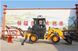 两头忙生产厂家 装载挖掘两用机器