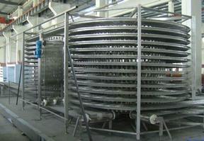 调理食品双螺旋速冻机 单冻机设备