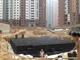 西安海绵城市雨水花园雨水利用PP模块水池系统雷火app